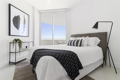 Contemporary Beachfront Penthouse ~ Bedroom