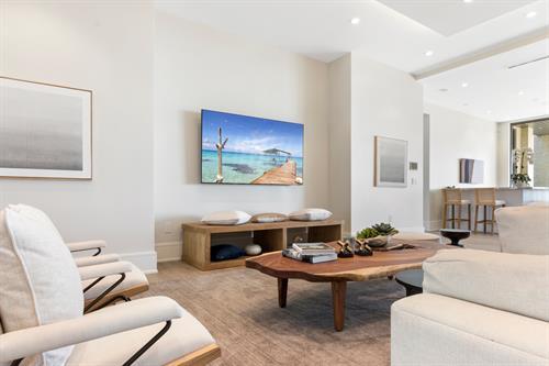 Ocean Reef Home ~ Living Room
