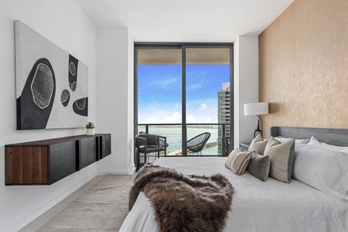 Edgewater Contemporary Living ~ Master Bedroom