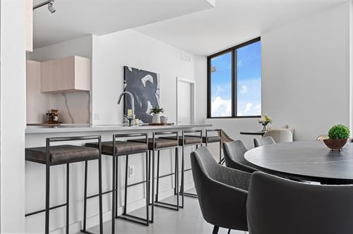 Edgewater Contemporary Living ~ Dining Room