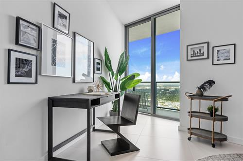 Edgewater Contemporary Living ~ Home Office