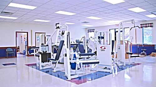 Spacious Rehabilitation GYM