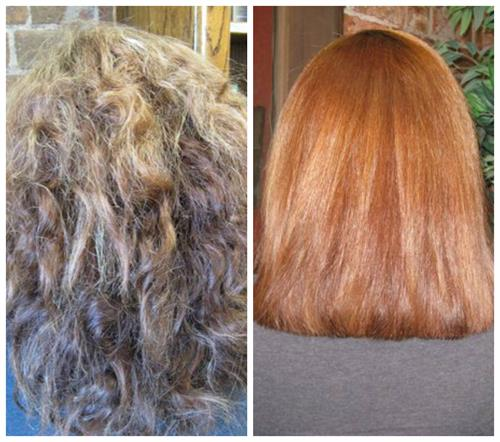 YUKO Straightening Treatment, by owner/stylist, Donna Strachan.