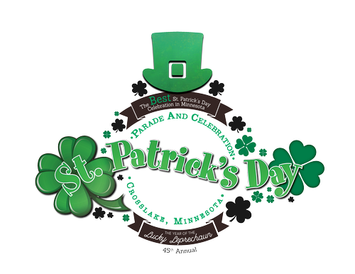 2019 St Patricks Day 45th Parade Celebration Crosslake Mar