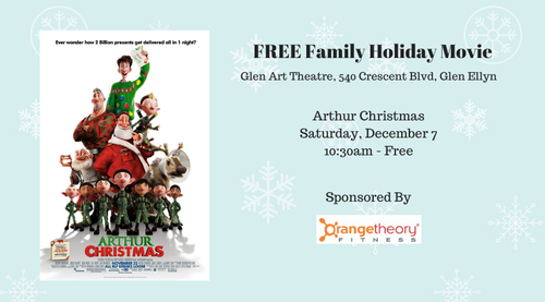 Free Family Holiday Movie Arthur Christmas
