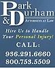 Park & Durham Attorneys At Law