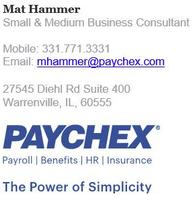 Paychex - Mat Hammer