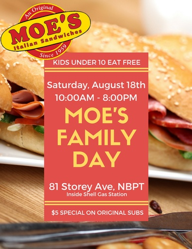 moes family day