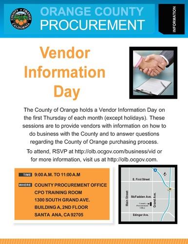 vendor information day mar 7 2019 garden grove chamber ca
