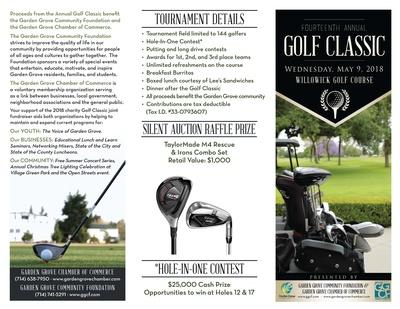 Gg Golf Tournament  May    Garden Grove Chamber Ca