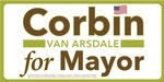 Corbin Van Arsdale for Mayor
