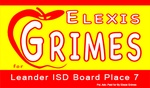 Elexis Grimes for Leander ISD Place 7