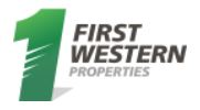 First Western Properties of Tacoma, Inc.