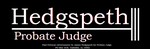 Jay Hedgspeth for Probate Judge Campaign