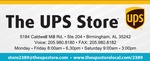 The UPS Store, Caldwell Mill / Valleydale in Hoover