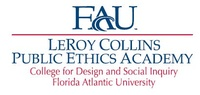 Florida Atlantic University - LeRoy Collins Public Ethics Academy