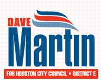 Dave Martin, Houston City Council Member, Dist. E