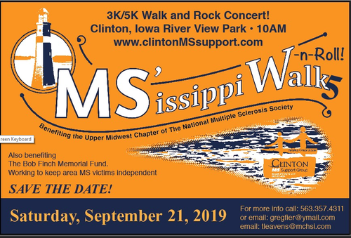 MS'issippi Walk-n-Roll - Sep 21, 2019 - Clinton Area Chamber of