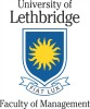 UNIVERSITY OF LETHBRIDGE FACULTY OF MANAGEMENT