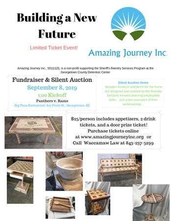 Fundraiser & Silent Auction for Amazing Journey, Inc  - Sep