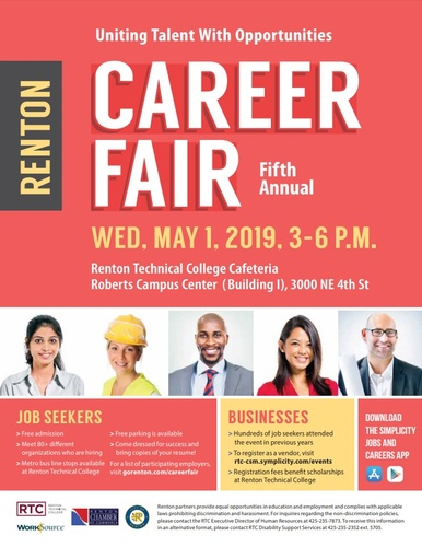 2017 renton career fair