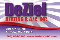 DeZiel Heating & A/C Inc