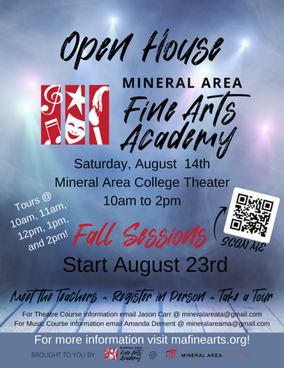 Ribbon Cutting & Open House - Mineral Area Fine Arts Academy