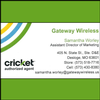 Cricket Wireless - Gateway