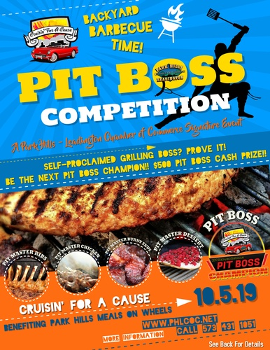 Pit Boss BBQ Competition - Oct 5, 2019 - Park Hills