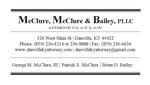 McClure &McClure