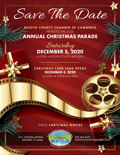 Desoto County Christmas Parade 2020 Annual Christmas Parade   Dec 5, 2020   DeSoto County Chamber of