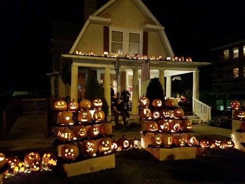 Image result for lewis house pumpkins wv
