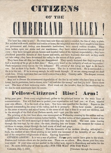 a description of the events that happened in gettysburg during the civil war The two sides engage in some of the fiercest fighting of the civil war,  when  major news happens, stay on top of the latest developments,.