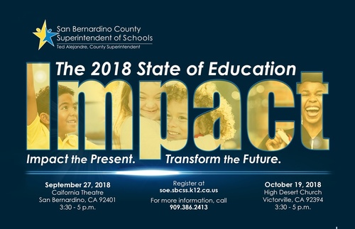 2018 State of Education - IMPACT @ High Desert Church  | Victorville | California | United States