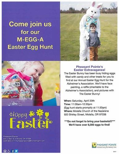 Pheasant Pointe Easter Extravaganza - Apr 20, 2019 - Molalla