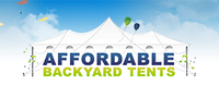 Affordable Backyard Tents