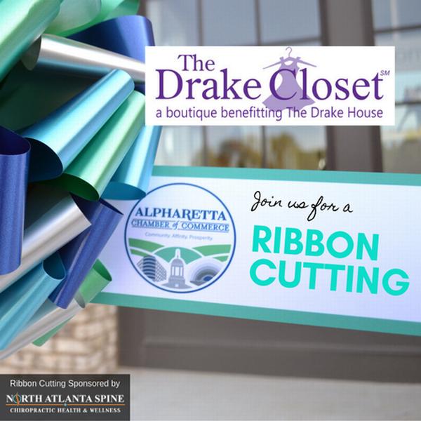 Ribbon Cutting & Grand Re-Opening -  The Drake Closet