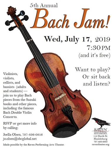 5th Annual Bach Jam - Jul 17, 2019