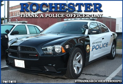 Rochester Thank A Police Officer Day - Sep 21, 2019