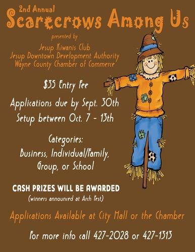 Scarecrows Among Us Registration Deadline - Sep 30, 2019