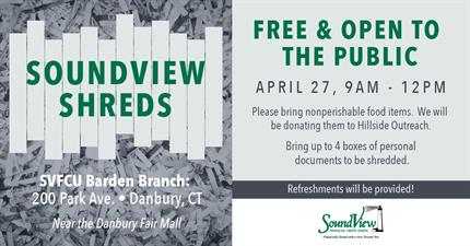 SoundView Shred Day - Apr 27, 2019