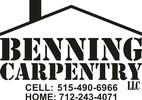 Benning Carpentry LLC