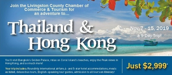 Hong Kong Thailand Trip 2019 - Nov 7, 2019 to Nov 15, 2019