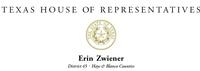 Erin Zwiener, State Representative HD 45
