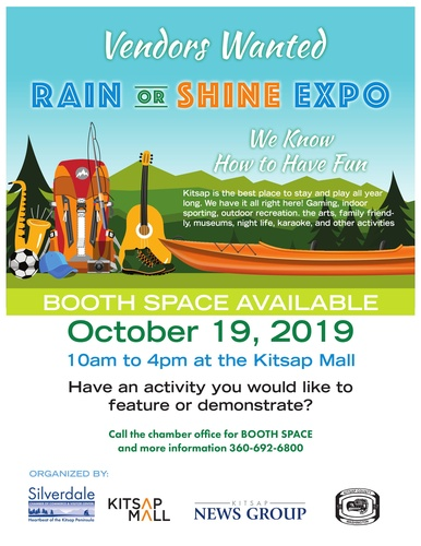 Rain or Shine, We Know How to Have Fun Expo - Oct 19, 2019