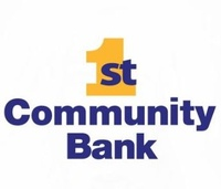 1st Community Bank SILVER  LEVEL SPONSOR