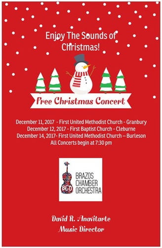 brazos chamber orchestra christmas concert - 7 11 Open On Christmas