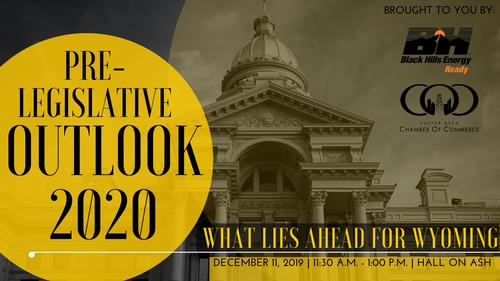 Pre-Legislative Outlook