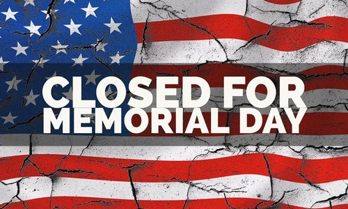 The Chamber Office Will Be Closed On Monday May 25 In Observance