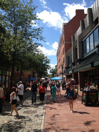 Salem Massachusetts Essex Street Fair